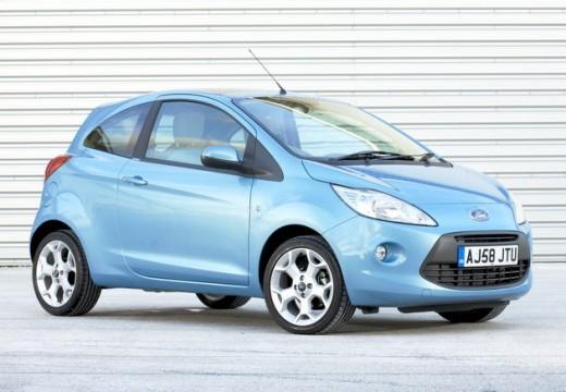 FORD Ka II hatchback niebieski jasny przedni prawy