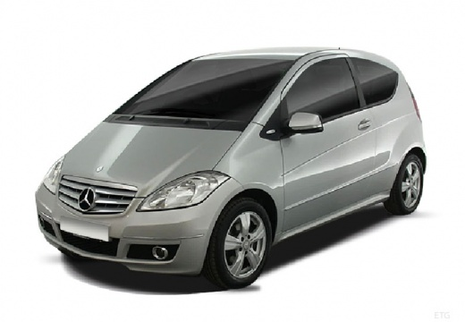 MERCEDES-BENZ Klasa A hatchback silver grey