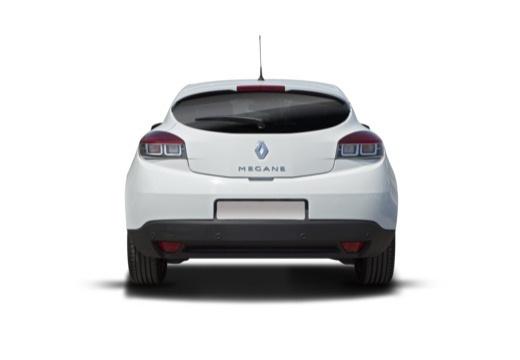 RENAULT Megane III Coupe II hatchback tylny