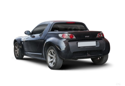 SMART Roadster I roadster czarny tylny lewy