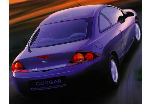 FORD Cougar I coupe niebieski jasny tylny prawy