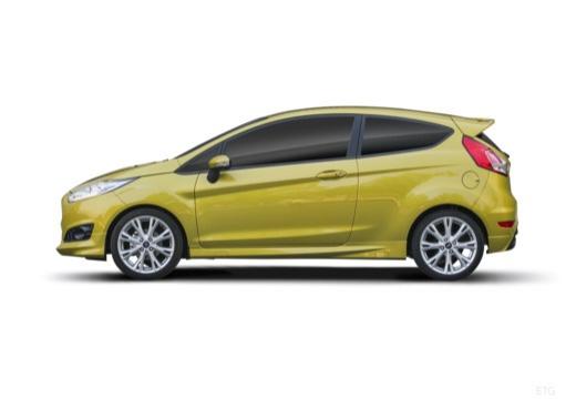 FORD Fiesta VIII hatchback boczny lewy