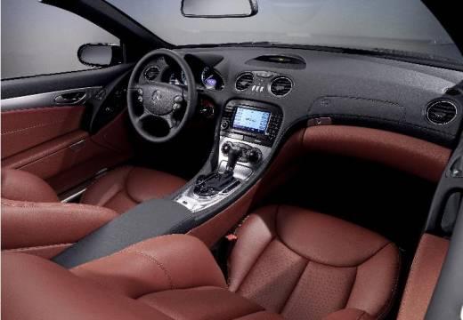 MERCEDES-BENZ Klasa SL roadster silver grey tablica rozdzielcza