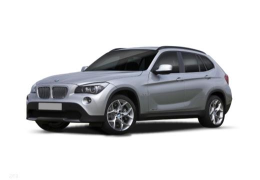 BMW X1 X 1 E84 I kombi silver grey przedni lewy