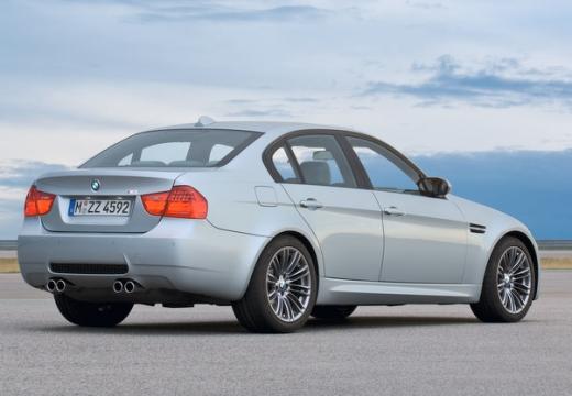 BMW Seria 3 E90 II sedan silver grey tylny prawy