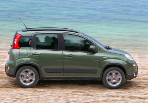 FIAT Panda III hatchback zielony boczny prawy
