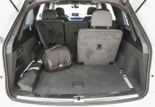 AUDI Q7 III kombi przestrzeń załadunkowa