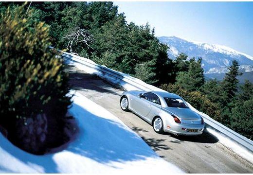LEXUS SC coupe silver grey tylny lewy