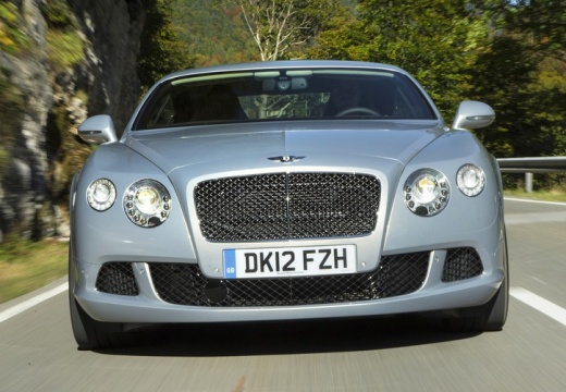 BENTLEY Continental coupe silver grey przedni