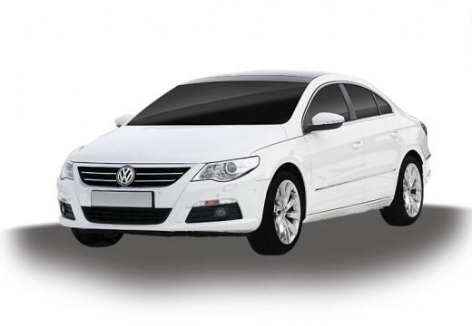 VOLKSWAGEN Passat CC sedan biały
