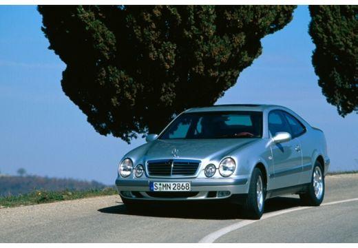 MERCEDES-BENZ Klasa CLK CLK C 208 coupe silver grey przedni lewy