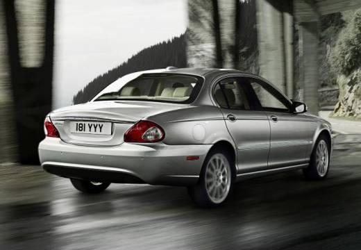 JAGUAR X-Type II sedan silver grey tylny prawy