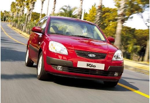 KIA Rio III hatchback czerwony jasny przedni prawy