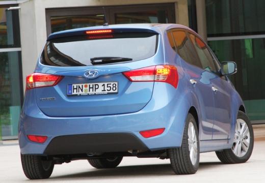 HYUNDAI ix20 I hatchback niebieski jasny tylny prawy