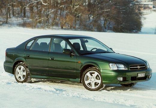 SUBARU Legacy III sedan zielony przedni prawy