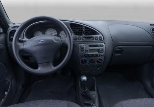 FORD Fiesta hatchback silver grey tablica rozdzielcza