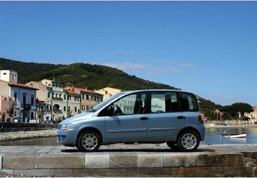 FIAT Multipla II kombi niebieski jasny boczny lewy