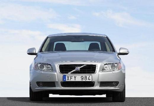 VOLVO S80 sedan silver grey przedni