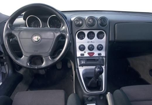 ALFA ROMEO GTV II coupe silver grey tablica rozdzielcza