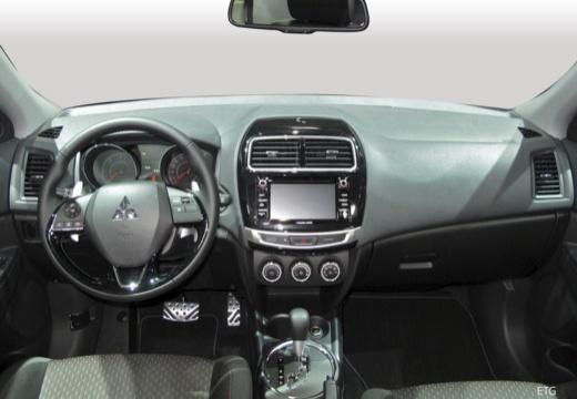 MITSUBISHI ASX hatchback silver grey tablica rozdzielcza