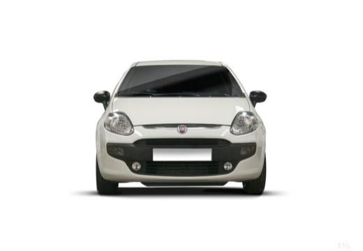 FIAT Punto Evo hatchback biały przedni