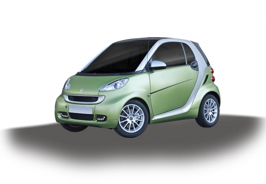 SMART fortwo coupe zielony