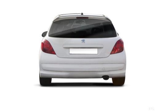 PEUGEOT 207 I hatchback tylny