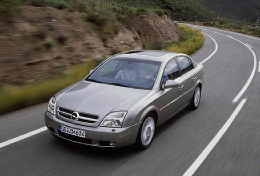 OPEL Vectra sedan silver grey przedni lewy