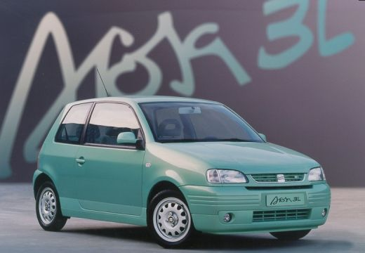 SEAT Arosa I hatchback zielony jasny przedni prawy