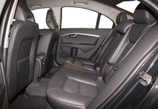 VOLVO S80 V sedan brązowy wnętrze