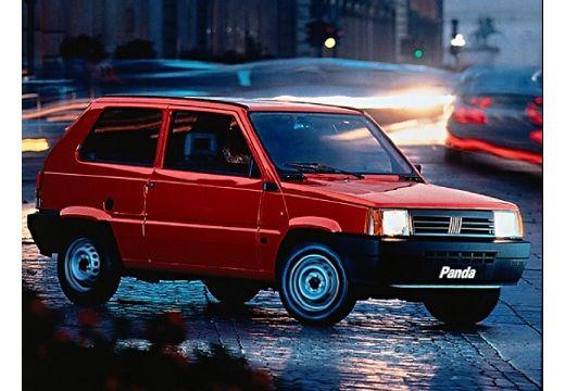 FIAT Panda hatchback czerwony jasny przedni prawy