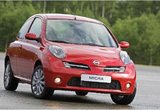NISSAN Micra VII hatchback czerwony jasny przedni prawy