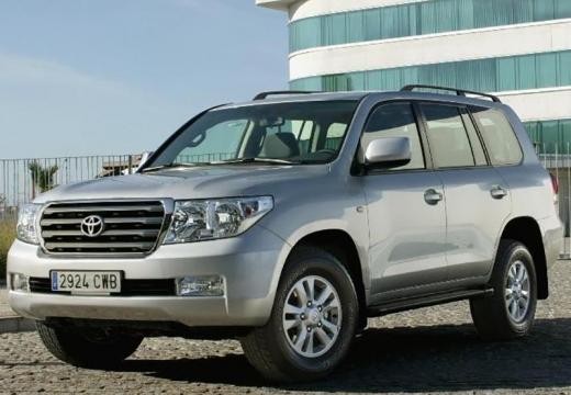 Toyota Land Cruiser V8 I kombi silver grey