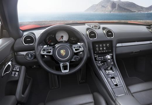 PORSCHE Boxster 718 982 roadster tablica rozdzielcza