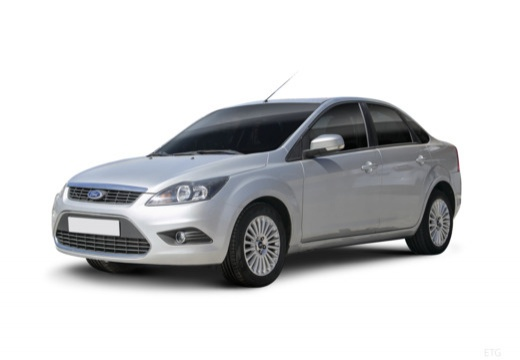 FORD Focus IV sedan silver grey