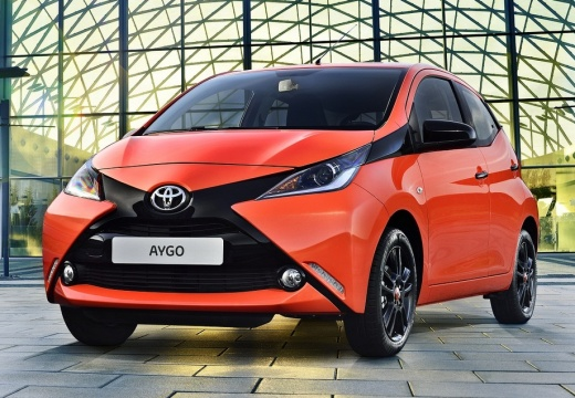 Toyota Aygo 1.0 VVT-i X Hatchback IV 69KM (benzyna)