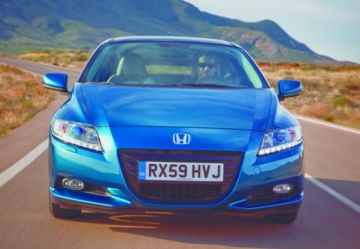 HONDA CR-Z coupe niebieski jasny przedni