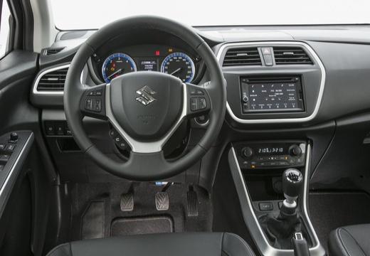 SUZUKI SX4 S-cross I hatchback czerwony jasny tablica rozdzielcza