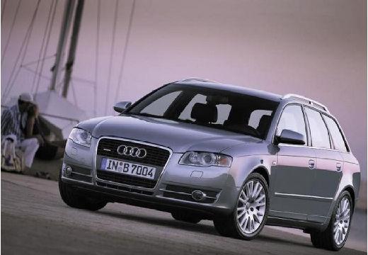 AUDI A4 Avant 8E II kombi silver grey przedni lewy