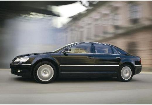 VOLKSWAGEN Phaeton sedan czarny przedni lewy