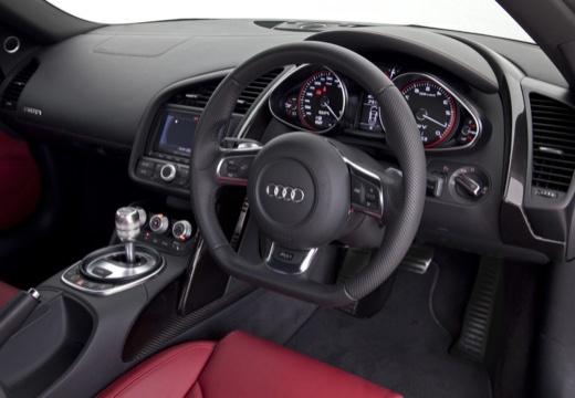 AUDI R8 Spyder I roadster tablica rozdzielcza