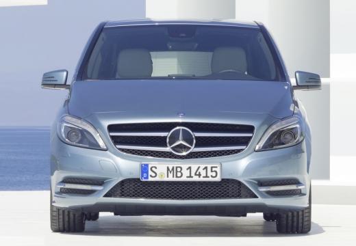 MERCEDES-BENZ Klasa B III hatchback silver grey przedni