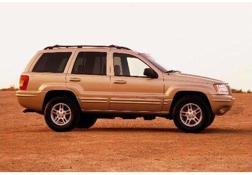 JEEP Grand Cherokee II kombi złoty boczny prawy
