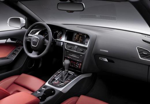 AUDI A5 kabriolet biały tablica rozdzielcza