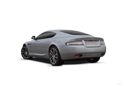 ASTON MARTIN DB9 PL coupe silver grey tylny lewy