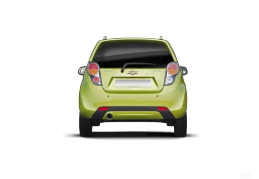CHEVROLET Spark II hatchback zielony tylny