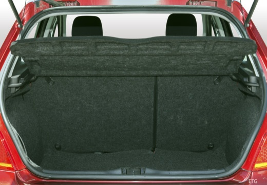 PEUGEOT 307 II hatchback przestrzeń załadunkowa