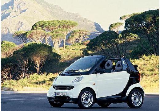 SMART fortwo cabrio I kabriolet biały przedni lewy