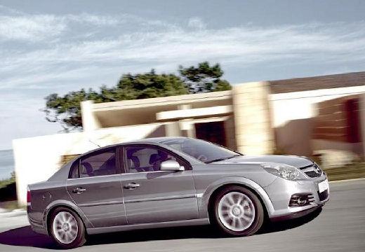 OPEL Vectra C II sedan silver grey przedni prawy