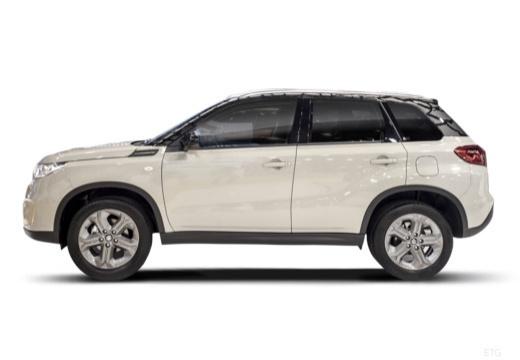 SUZUKI Vitara II hatchback biały boczny lewy